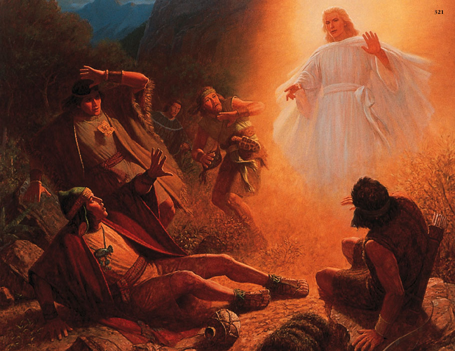 Alma The Younger Called To Repentance By Gary L Kapp Found At Lightplanet Mormons Book Of Mormon People 2