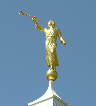 1 The Angel Moroni is the most ubiquitous uniquely LDS symbol