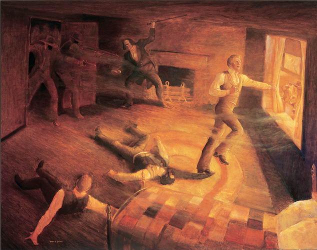 Joseph Smith Oil Painting
