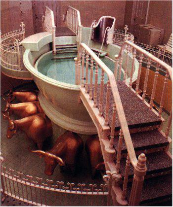 temples virtual tour of baptistries
