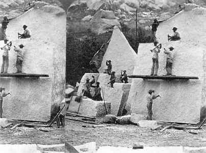 The history of granite